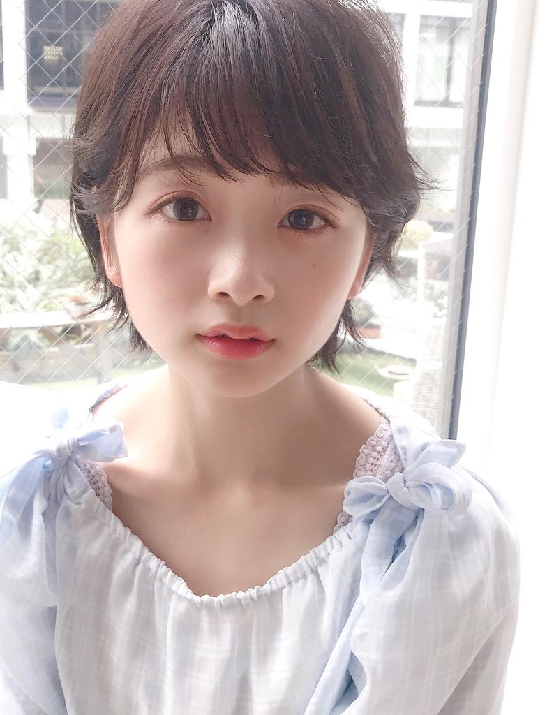 #Rui似合わせスタイリング×小顔ナチュラルマニッシュショート