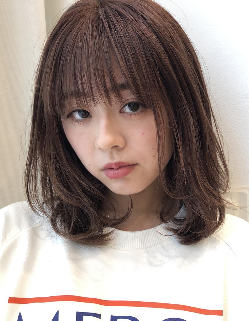 【鈴木】レイヤーたっぷりの3Dカラーぱっつんバング