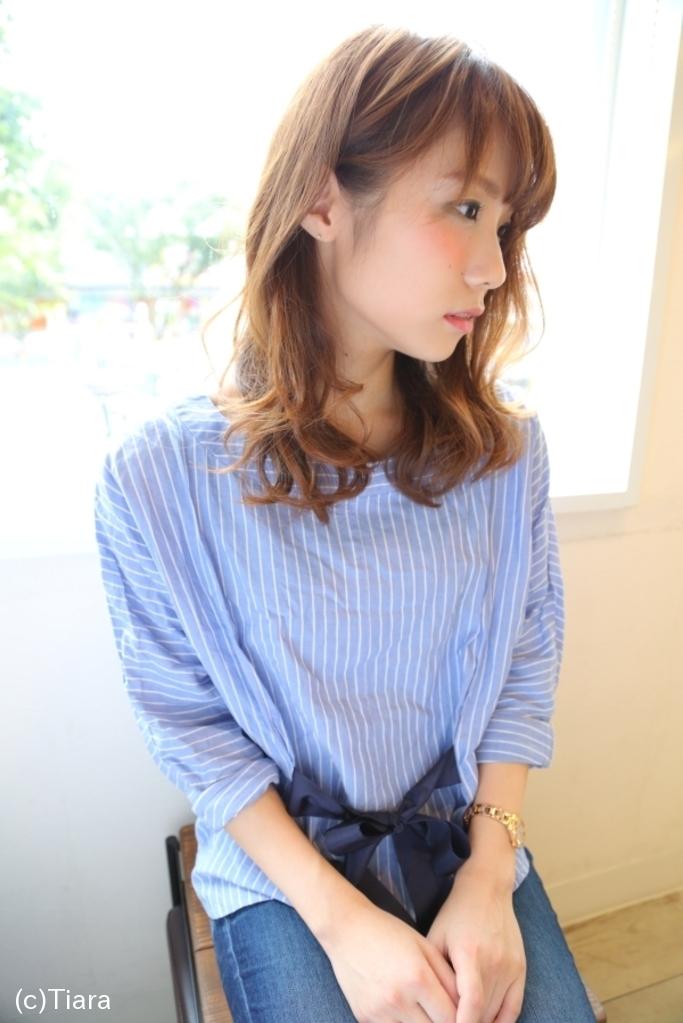 ティアラのヘアドクター竹永のノンダメージシルキーデジタルひし形パーマで小顔効果倍増おススメヘアー