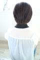 黒髪でもヘアドクター竹永の似合わせカットで大人っぽく、お洒落に見えるショートボブ