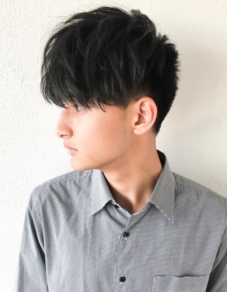 メンズ 刈り上げショート 髪型(NY,48)