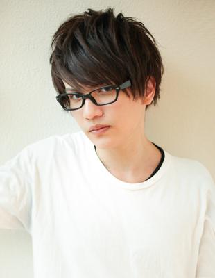 メンズビジネスメガネが似合う◎髪型(NY-95)
