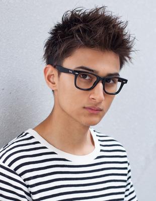 メンズビジネスメガネが似合うショート◎髪型(NY-99)
