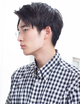 メンズビジネスショート◎髪型(NY-115)