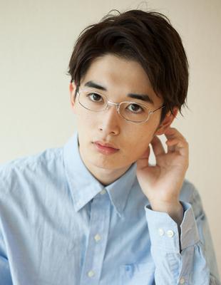 メンズ30代メガネショート◎髪型(NY-116)