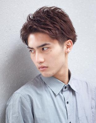 メンズビジネス30代ショート◎髪型(NY-119)
