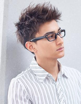 メンズ30代ビジネスマン好感度ショート◎髪型(NY-120)