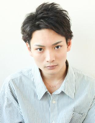 メンズ30代ビジネス好感度ショート◎髪型(NY-125)