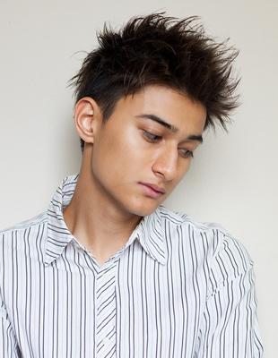 メンズビジネス好感度メガネ◎髪型(NY-126)