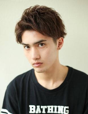 メンズビジネス好感度パーマ◎髪型(NY-127)