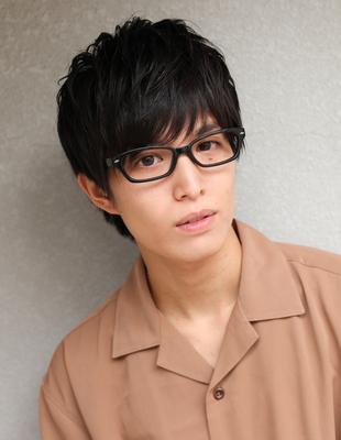 メンズ好感度◎メガネが似合う髪型(NY-146)