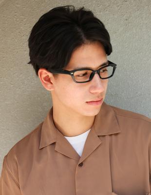 メンズ メガネが似合うビジネス◎髪型(NY-158)
