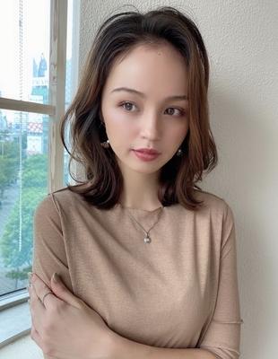 大人可愛い◎20代30代レイヤー髪型(NY-202)