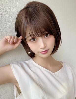 AFLOAT《矢田菜津紀》大人かわいい/耳かけショートボブ