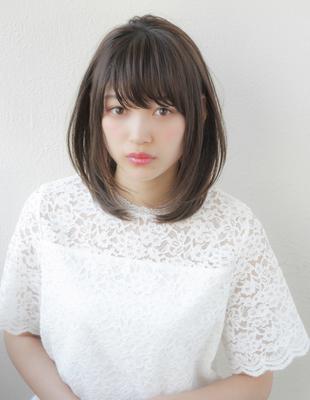 大人かわいい小顔ミディアムレイヤーヘア(TO-30)