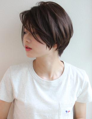 前髪長めひし形ショートヘア(SH−47)