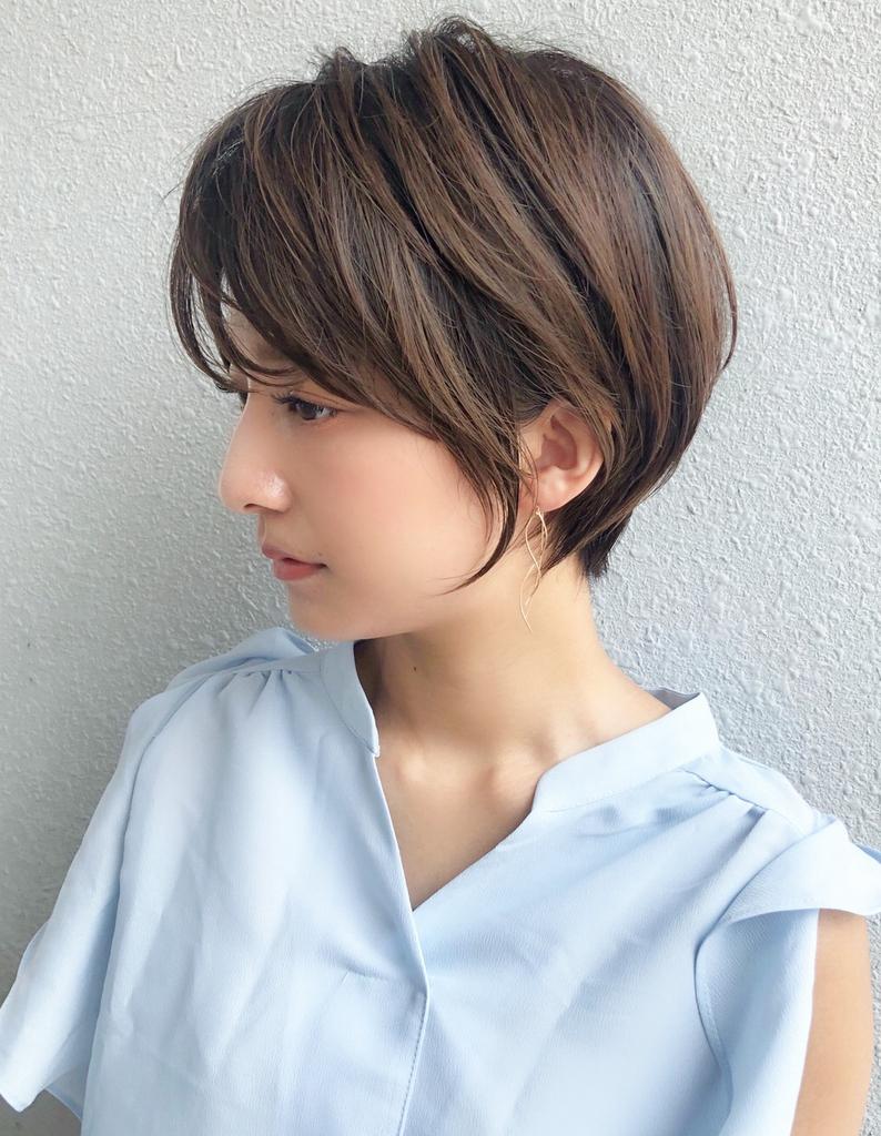 30代40代大人のすっきりショートヘア Sh 99 ヘアカタログ 髪型
