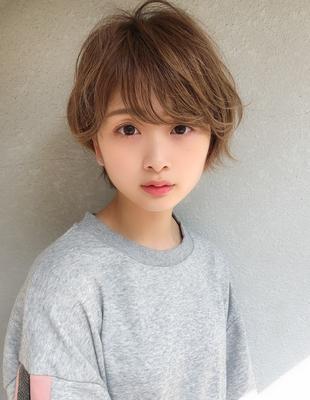 小顔大人かわいいひし形ショートボブ(SH−117)