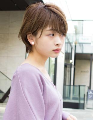 大人かわいい小顔ショートヘア(SH−118)