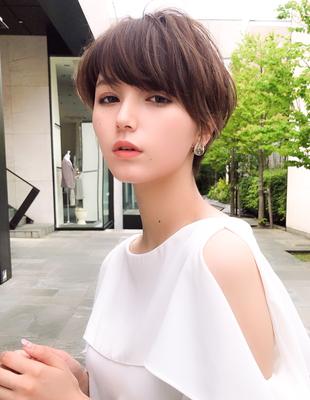20代30代髪型大人かわいい似合わせカット(SH−125)