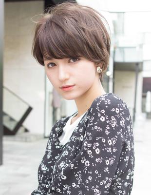 大人かわいい小顔似合わせショートヘア(SH−125)