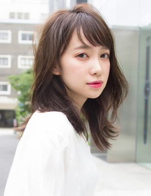大人かわいい小顔外ハネレイヤー(SH−127)