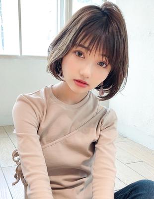 20代30代40代髪型 大人かわいいショートボブ(SH−160)