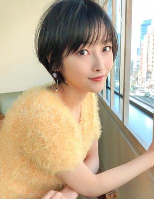 大人かわいい髪型 ひし形ヘア 小顔(SH−165)