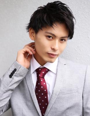 メンズ 髪型 ビジネス【NS-035】
