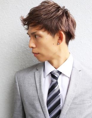 20代30代社会人ビジネスマンに人気の男性の髪型(NS-037)