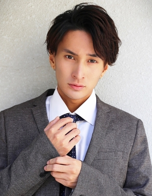 メンズ好感度大人ビジネス刈り上げショート人気スーツ◎髪型(NS-062)