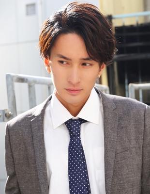 メンズ好感度大人ビジネス刈り上げショート人気スーツ◎髪型(NS-065)