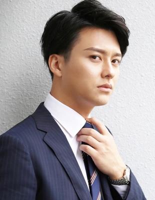 メンズ好感度大人ビジネス刈り上げショート人気スーツ◎髪型(NS-072)