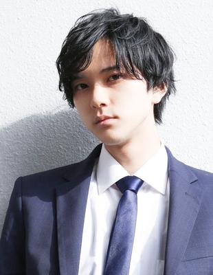 新入社員 メンズ 髪型(NS-097)