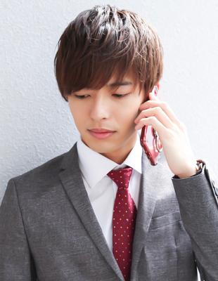 メンズ 好感度アップ ビジネスマンに人気髪型(NS-107)