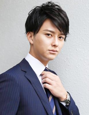メンズ好印象社会人ビジネス刈り上げショート人気スーツ◎髪型(NS-206)