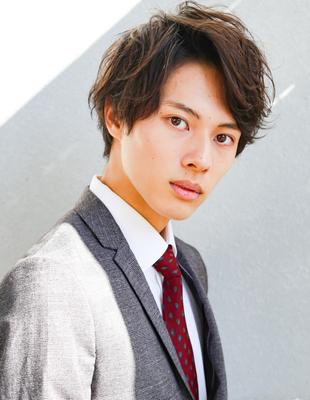 30代 男性 髪型  (NS-237)