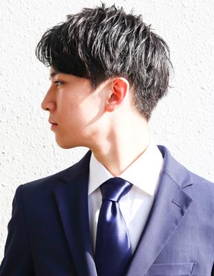 メンズ 髪型 ビジネス 30代(NSー249)