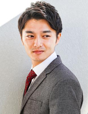 メンズ ビジネス ショート 髪型(NS−257)