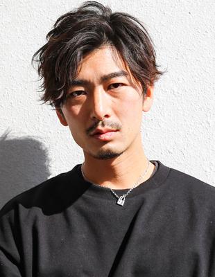 メンズ 髪型 ビジネス 30代 パーマ(NS-261)
