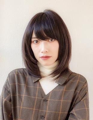 小顔ミディアムレイヤー(KI-004)