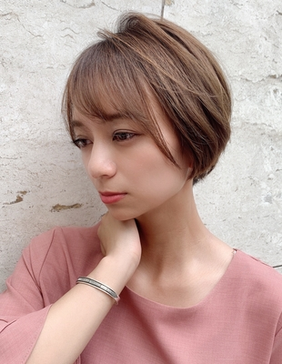 大人かわいい センシュアル小顔ショート(KI-032)