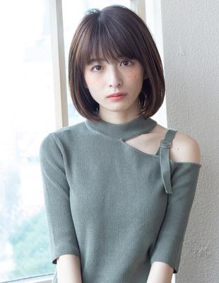ボブ  ショートボブ 可愛い髪型(KI-060)