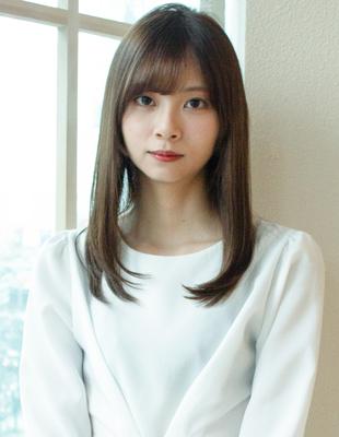 セミロング ローレイヤー 可愛い髪型(KI-061)