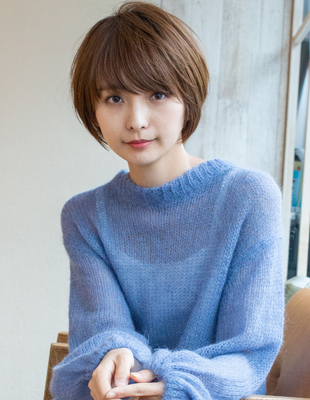 ショート ショートボブ   可愛い髪型(KI-064)