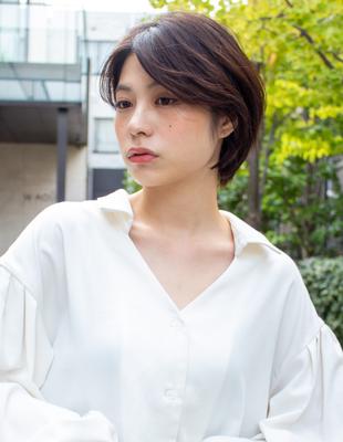ハンサムショート  可愛い髪型(KI-065)
