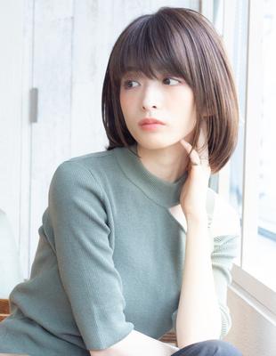 ボブ ショートボブ  可愛い髪型(KI-066)