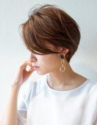 ショート  ショートボブ  可愛い髪型(KI-072)