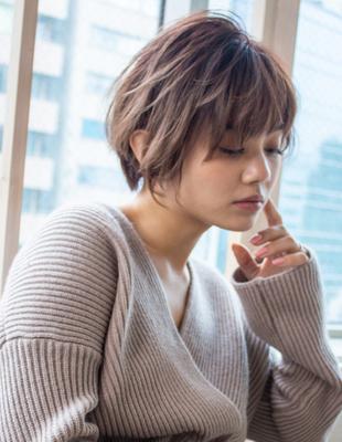 ショート ショートボブ  可愛い髪型(KI-075)