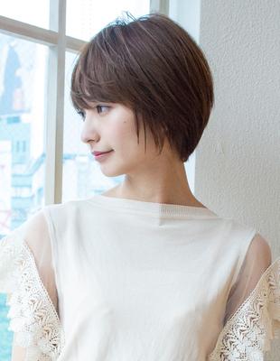ショート ショートボブ  可愛い髪型(KI-076)